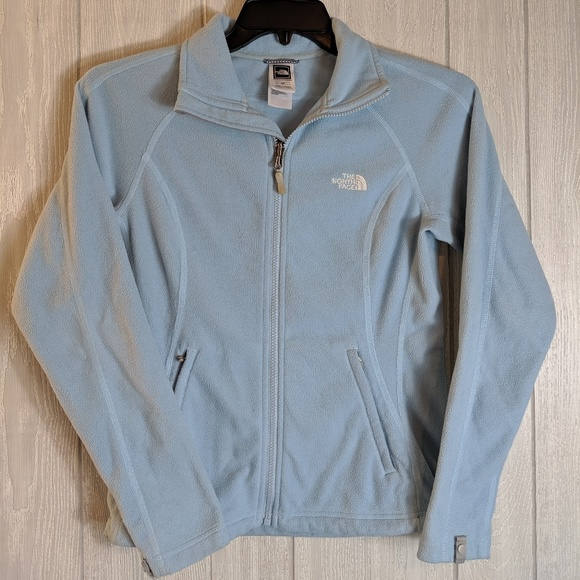 The North Face Jackets & Blazers - EUC The North Face blue zip up jacket sz sm